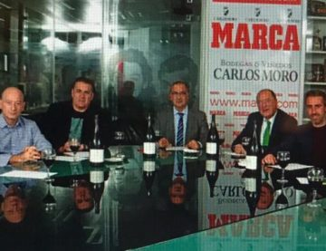 CM, the wine chosen by SENADO MARCA for match debates