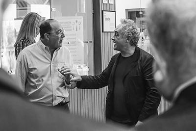 Con Ferran Adriá
