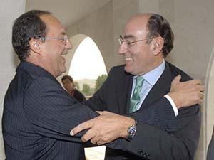 Con Ignacio Sánchez Galán
