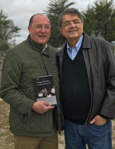 Con el Premio Cervantes Sergio Ramírez