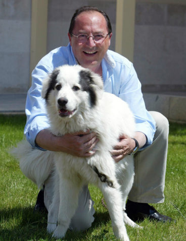 Con mi perro BACCHUS