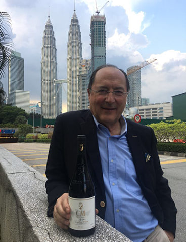 Durante un viaje a Kuala Lumpur