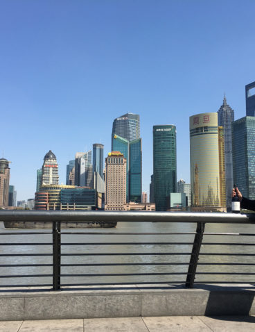 Durante un viaje a Shanghai