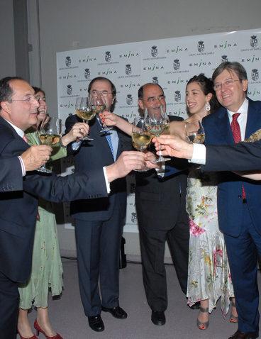 Inauguración de la bodega Emina Rueda