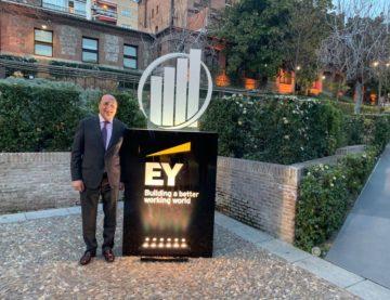 Mi enhorabuena al ganador del Premio Emprendedor del Año EY 2018