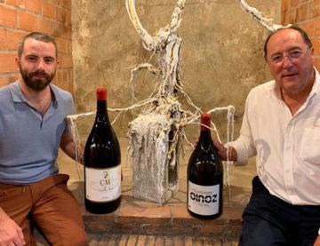 Una gran simbiosis entre arte y vino