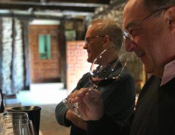 Tim Atkin cata nuestros vinos