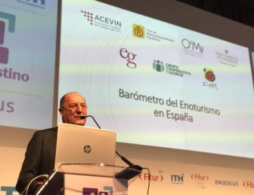 The First Barometer of Wine Tourism in Spain