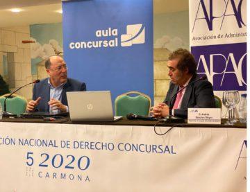 Los desafíos de Matarromera ante los juristas de España