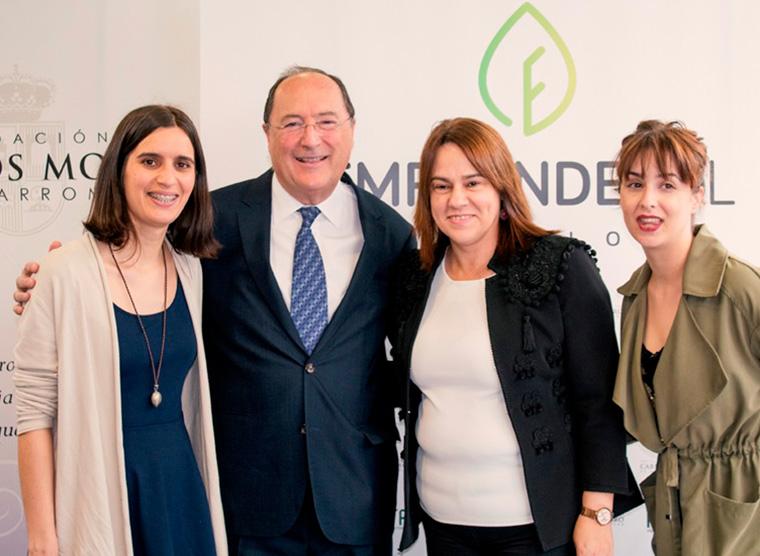 Carlos Moro at the Emprendecyl Awards